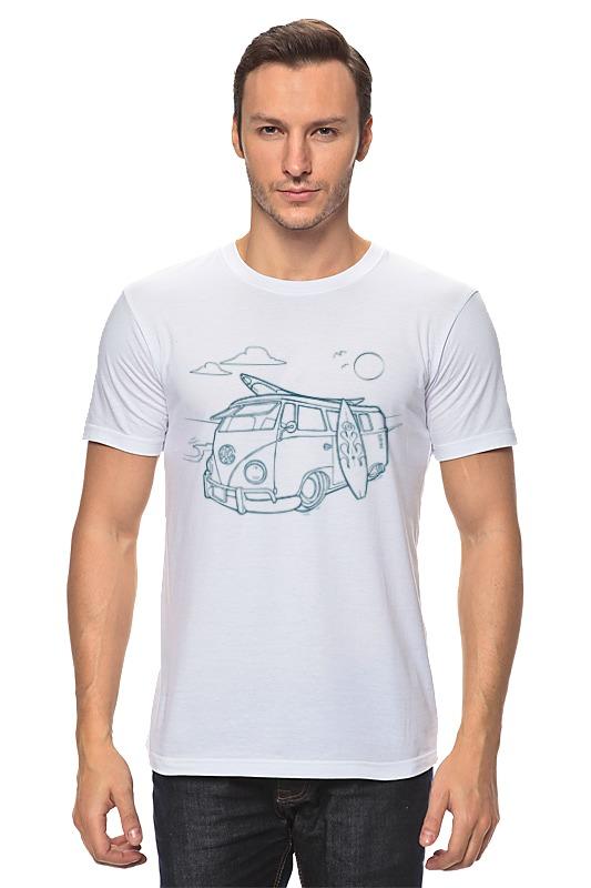 Футболка классическая Printio Серфинг футболка классическая printio ищу большую волну