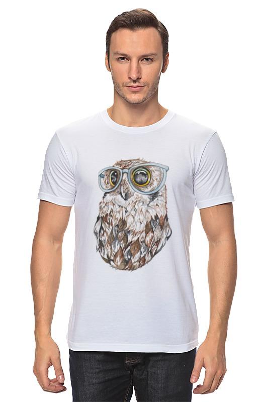 Футболка классическая Printio Совенок футболка классическая printio футболка совёнок