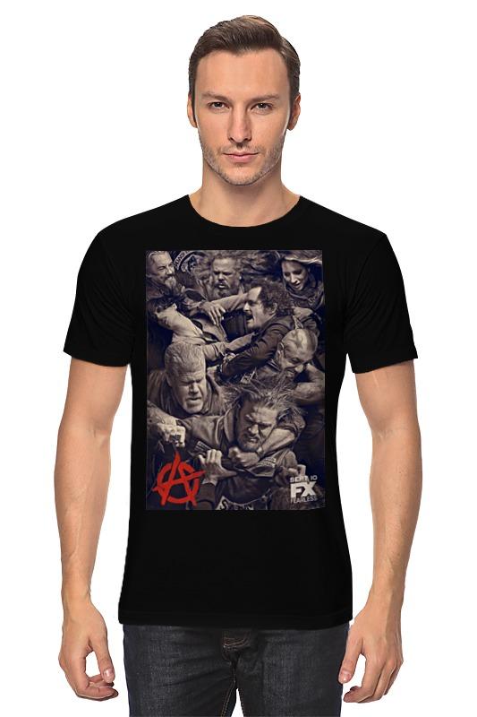 Футболка классическая Printio Мама анархия папа стакан бурбона случайные мальчика девочка любовь папа мама футболка шорты 2pcs наряды одежду комплекс