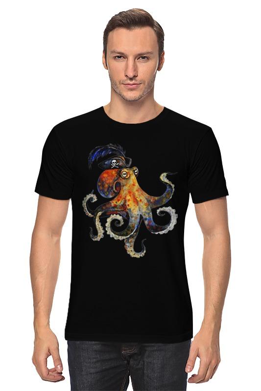 Футболка классическая Printio Пиратский осьминог майка классическая printio пиратский осьминог