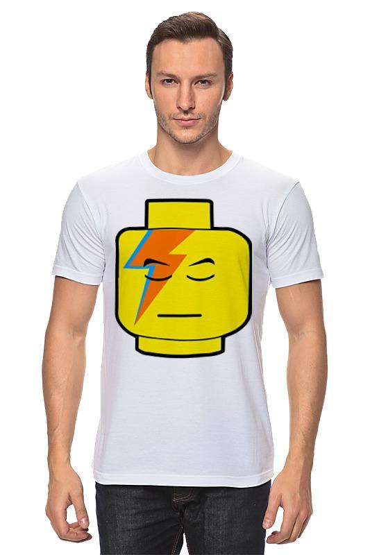 Футболка классическая Printio Лего боуи футболка классическая printio штурмовик лего