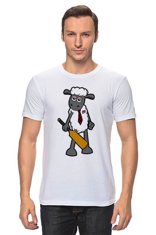 Футболка классическая Printio Модная овечка майка классическая printio модная овечка