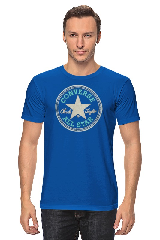 Футболка классическая Printio Converse all star футболка мужская cms 110000 all star logo