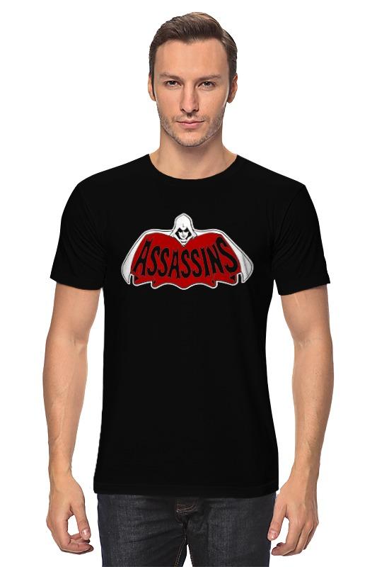 Футболка классическая Printio Assassins x batman лонгслив printio ice king x batman