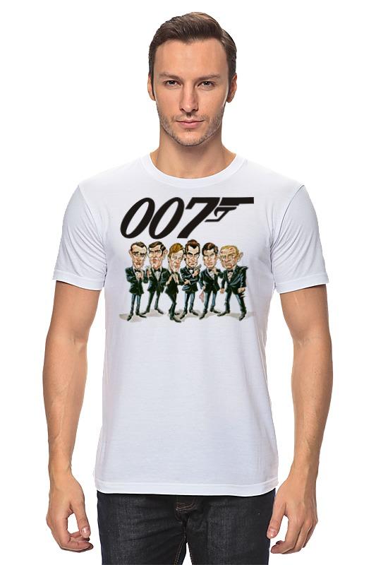 Футболка классическая Printio James bond футболка классическая printio unkle james lavelle