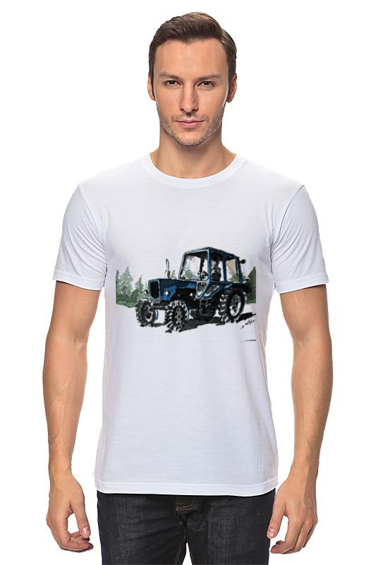 Футболка классическая Printio трактор от михаила доманова отсутствует автомир 35 2017