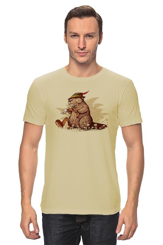 Футболка классическая Printio Кролик в охотничьей шляпе футболка классическая printio девушка в шляпе