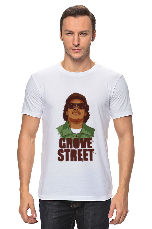 Футболка классическая Printio Grove street макетная плата mcu grove gsr grove