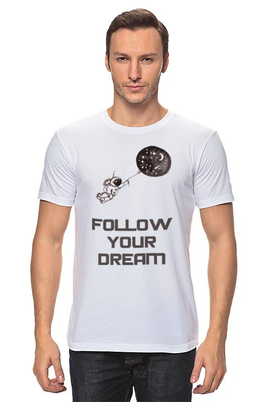 Футболка классическая Printio Follow your dream майка классическая printio follow your dream