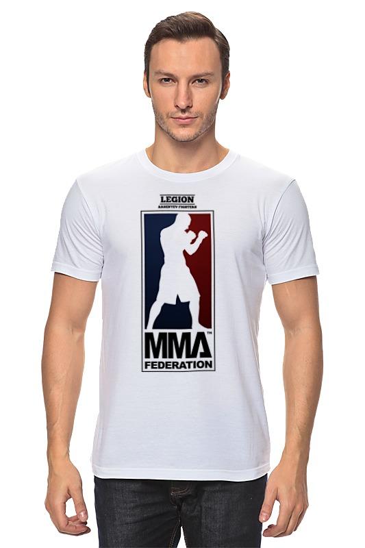 Футболка классическая Printio Mma - legion рубашка legion