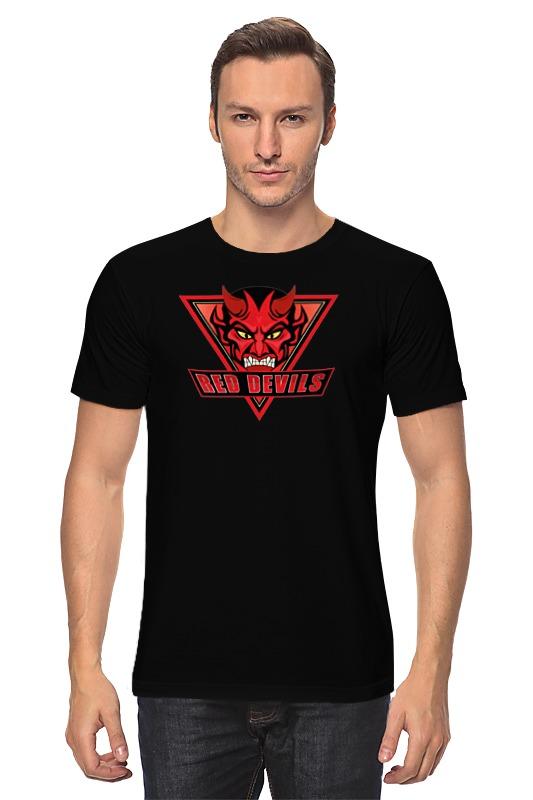Футболка классическая Printio Red devils цена