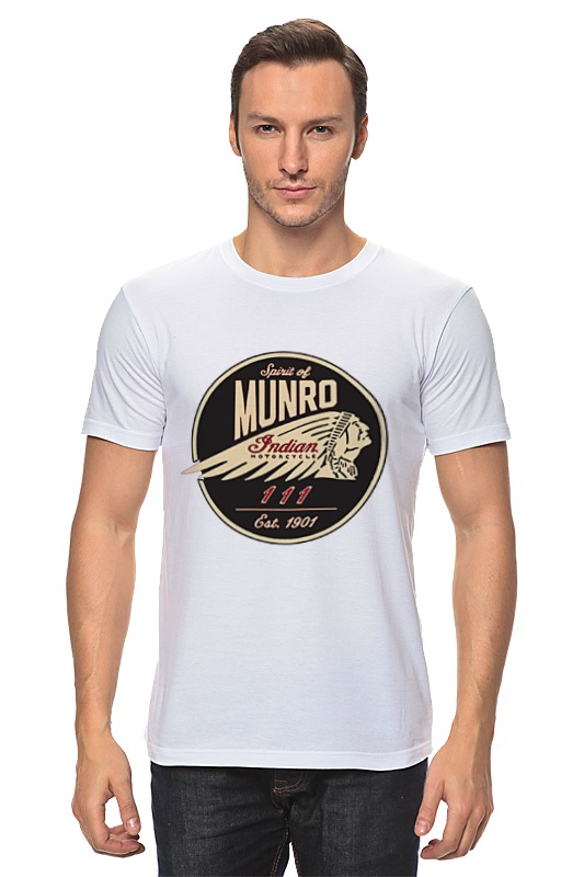 Printio The spirit of munro. indian футболка wearcraft premium printio the spirit of munro indian