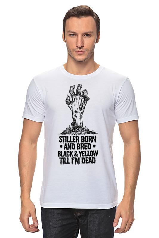 Футболка классическая Printio Steeler зомби детская футболка классическая унисекс printio steeler зомби