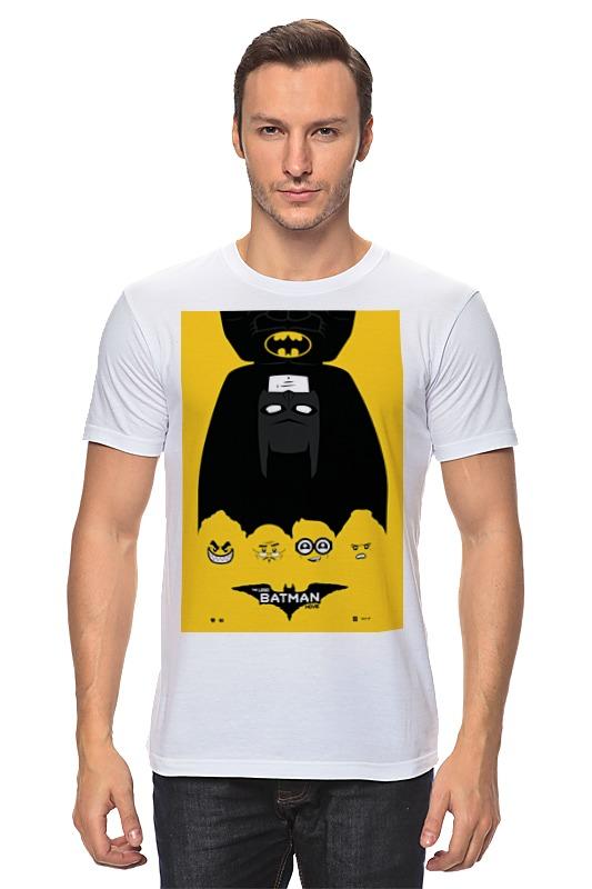 Футболка классическая Printio Лего фильм: бэтмен / the lego batman movie футболка с полной запечаткой printio лего фильм бэтмен the lego batman movie