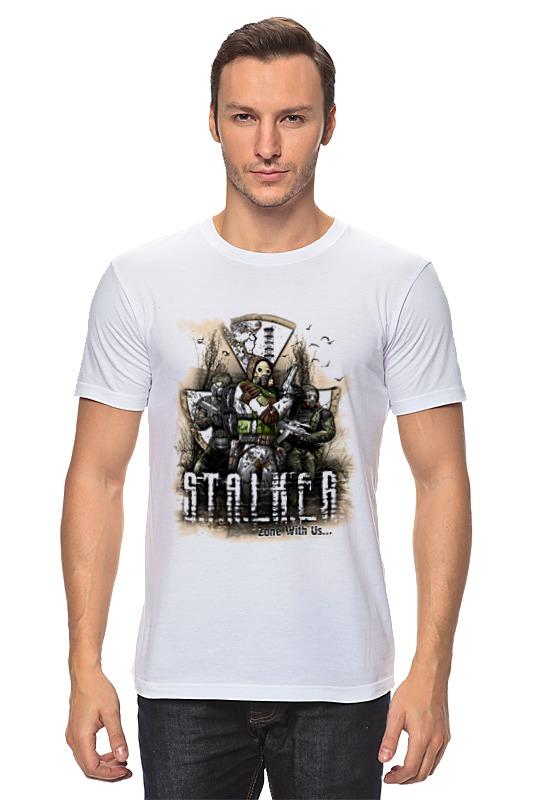 Футболка классическая Printio Сталкер 2 футболка классическая printio 62 2% в саратове