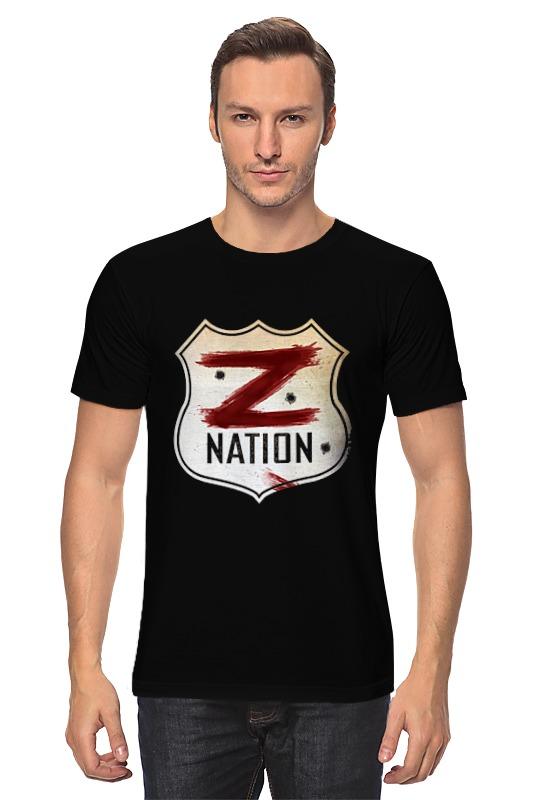 Футболка классическая Printio Z nation vnv nation london