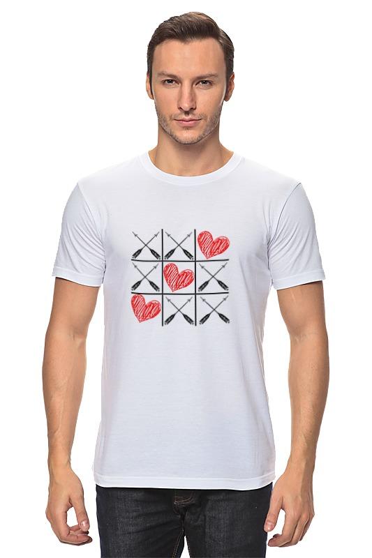 Футболка классическая Printio Любовь (love) игра молчанова и игра на любовь