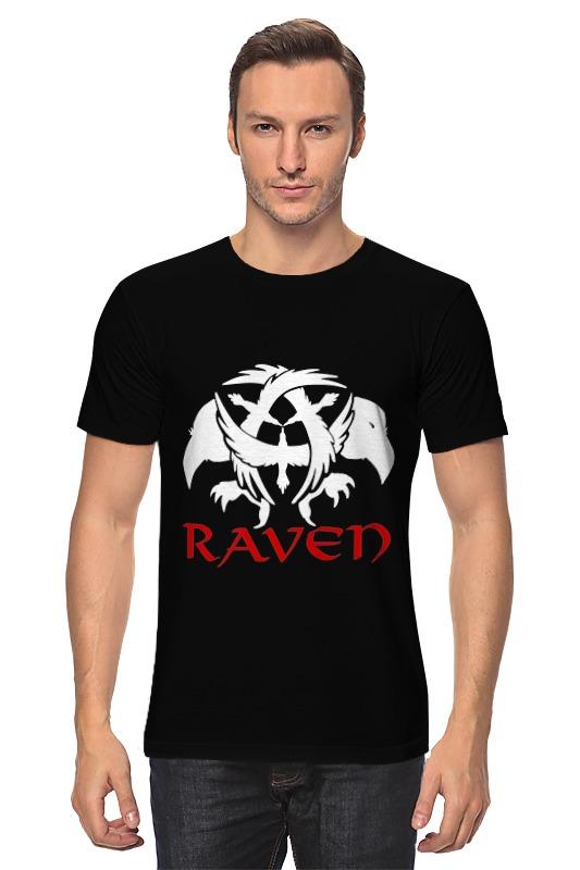 Футболка классическая Printio Raven brand