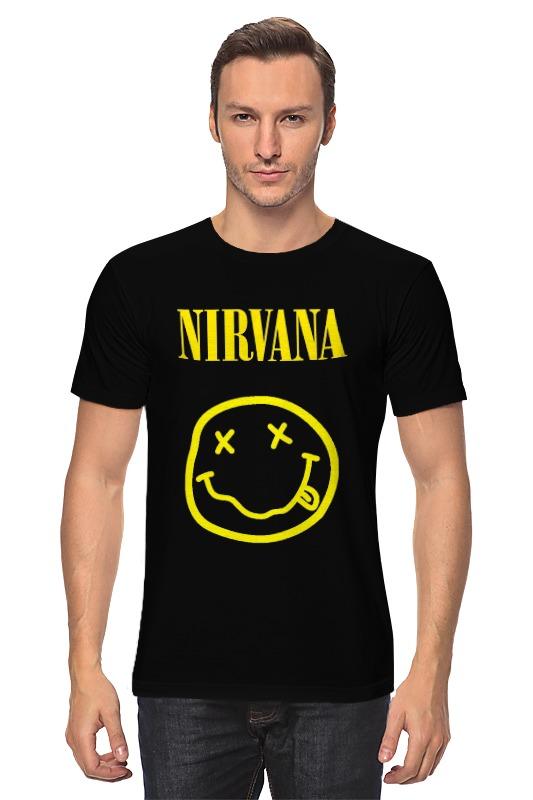 Футболка классическая Printio Nirvana