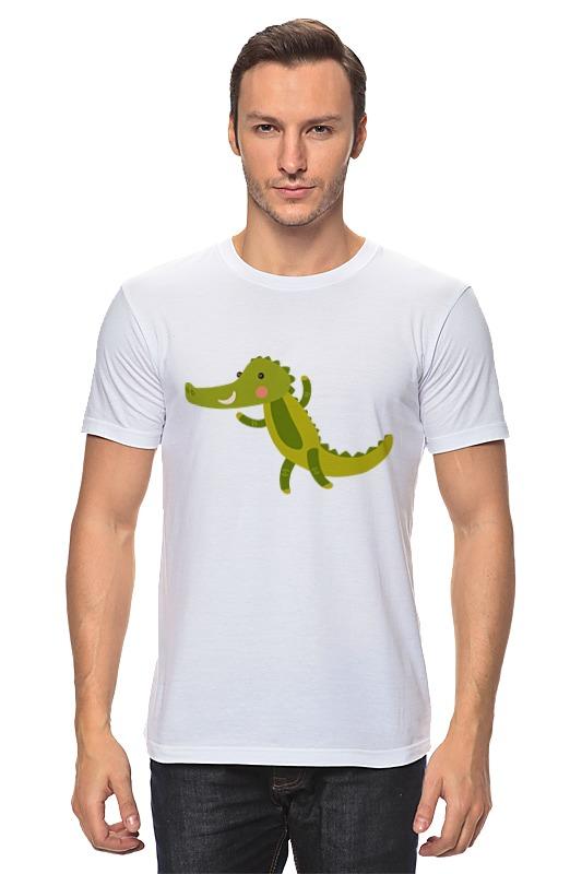 Футболка классическая Printio Крокодил
