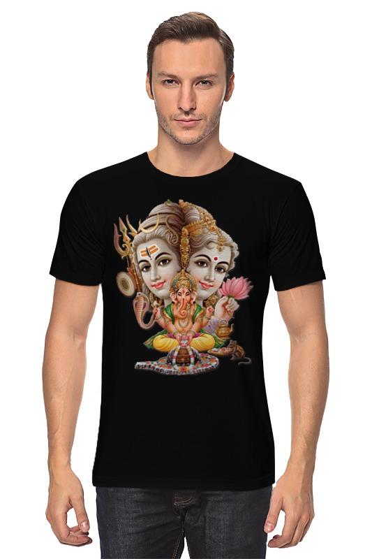 Футболка классическая Printio Господь шива футболка на заказ со своей картинкой