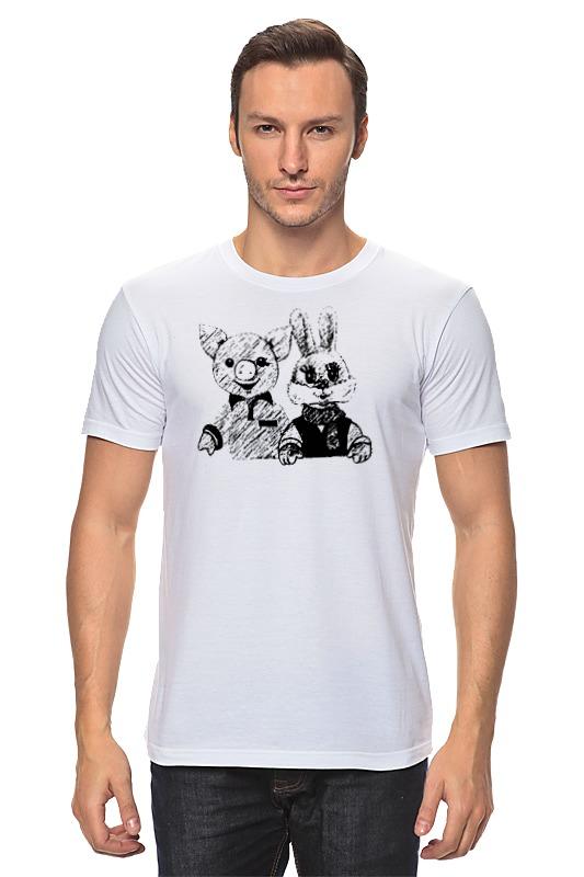 Printio Хрюша и степашка футболка wearcraft premium printio хрюша и степашка