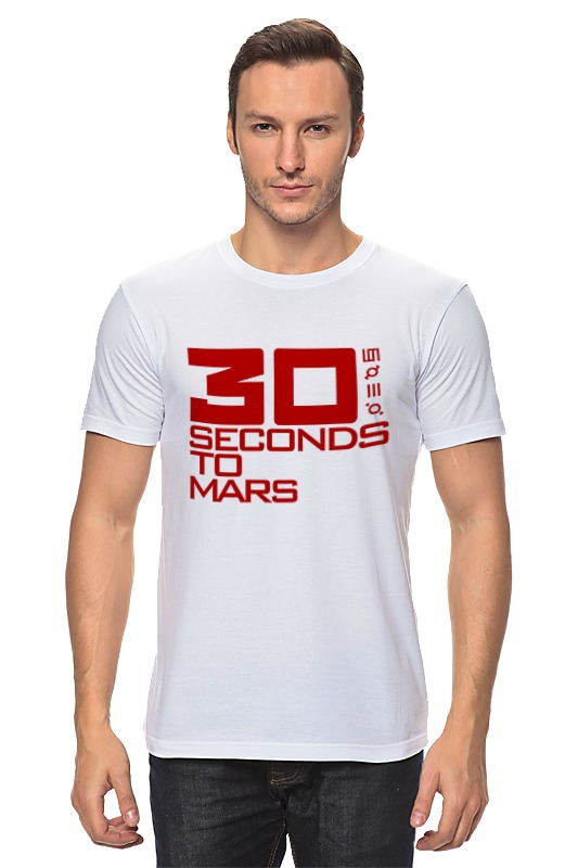Футболка классическая Printio 30 seconds to mars футболка стрэйч printio city of angels 30 seconds to mars