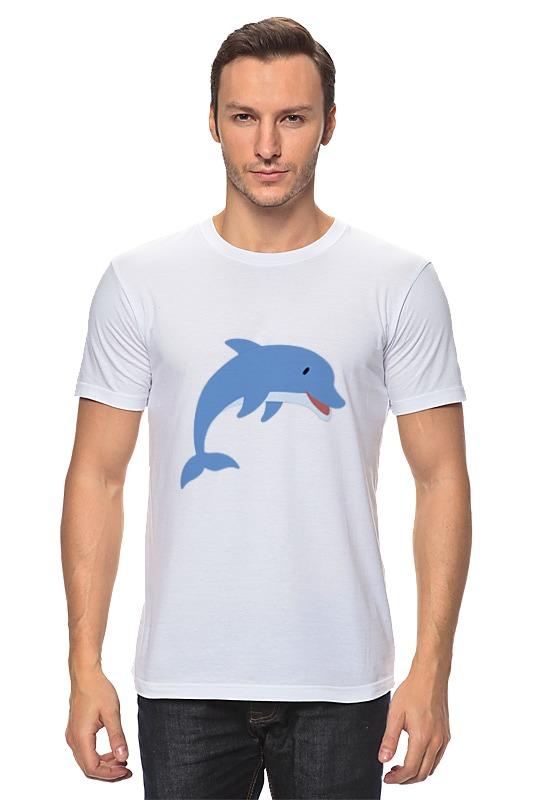 Футболка классическая Printio Дельфин футболка мужская senleis sls t1616 2015 1616