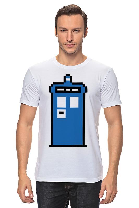 Футболка классическая Printio Тардис (доктор кто) футболка рингер printio доктор кто doctor who