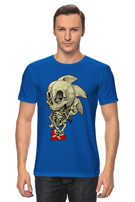 Футболка классическая Printio Sonic skeleton футболка классическая printio sonic dance