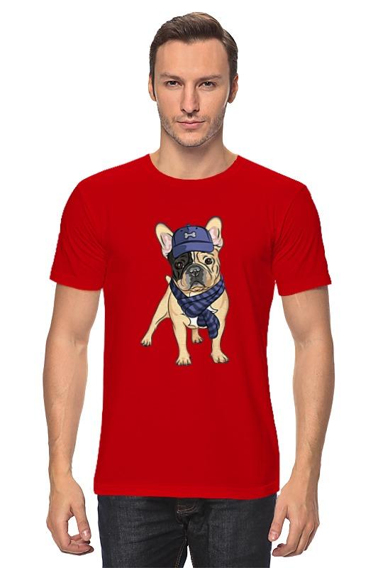 Футболка классическая Printio Собака хиппи майка классическая printio собака хиппи