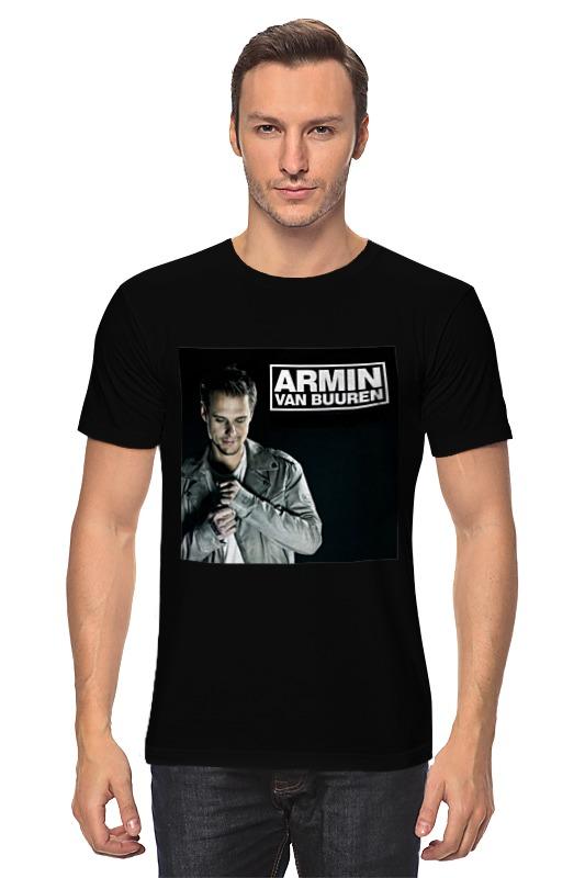 Футболка классическая Printio Armin van buuren кепка printio armin lg 001