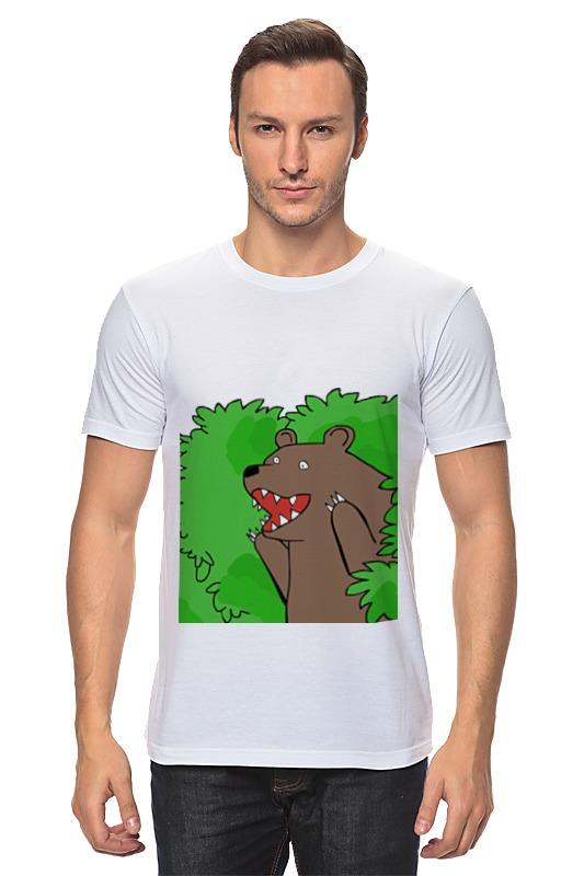 Футболка классическая Printio Медведь из кустов андрей кустов
