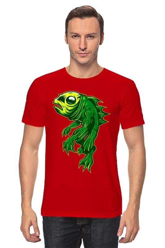 Футболка классическая Printio Рыбка август пазл для малышей рыбка цвет основы красный