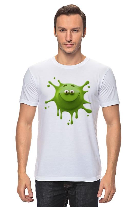 Фото - Футболка классическая Printio Улыбчивая клякса футболка классическая printio клякса qhd