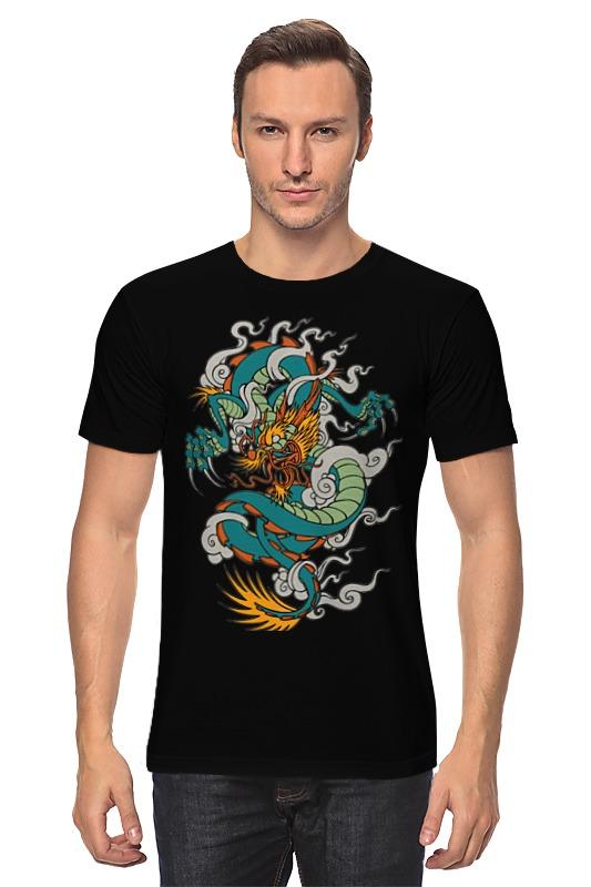 Футболка классическая Printio Дракон / dragon майка классическая printio дракон dragon