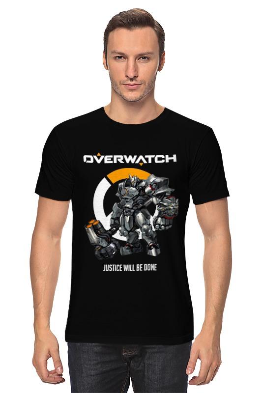 цены Printio Overwatch. райнхардт