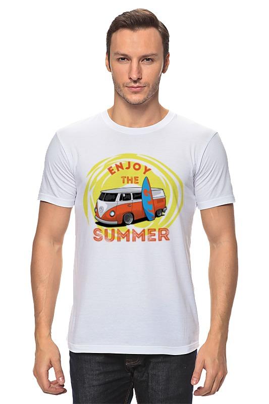 Футболка классическая Printio Наслаждайся летом! билет на автобус пенза белинский