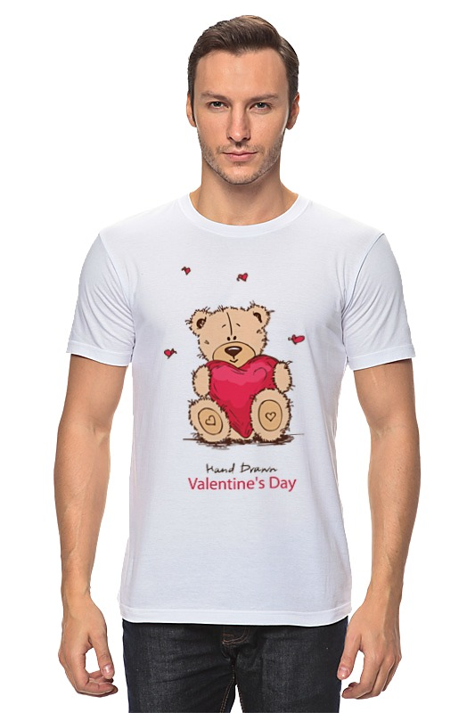 Футболка классическая Printio Happy valentnine's day 1gc14210 1gc1 4210 ssop16