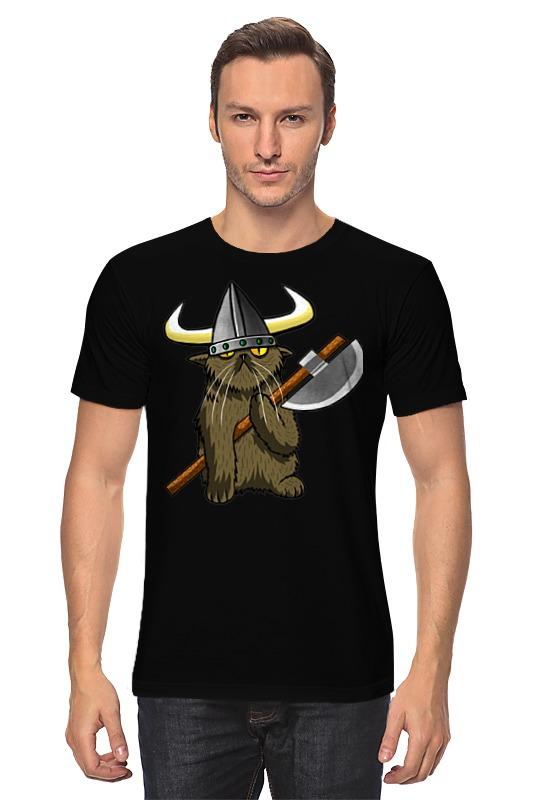 Футболка классическая Printio Кот викинг футболка классическая printio кот викинг