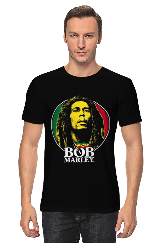 Футболка классическая Printio Bob marley bob marley