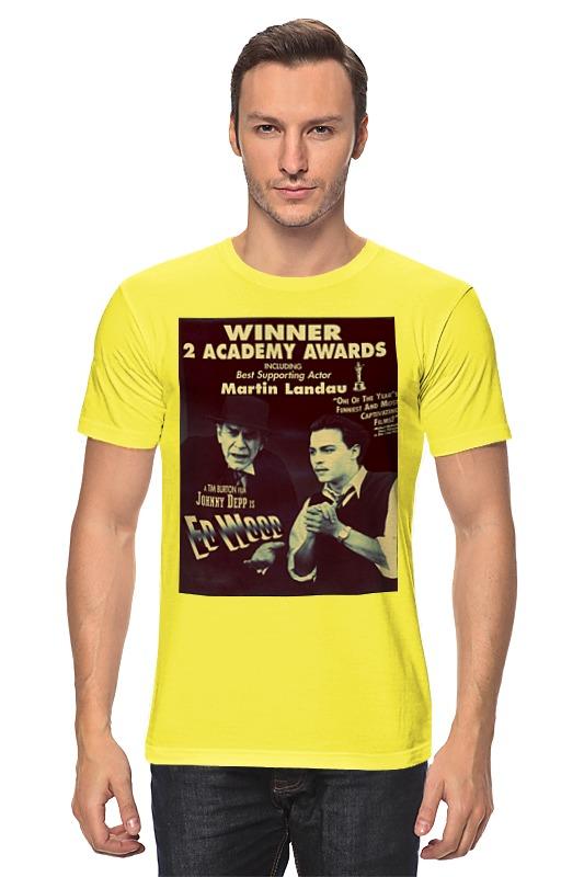 Футболка классическая Printio Эд вуд футболка wearcraft premium slim fit printio эд вуд