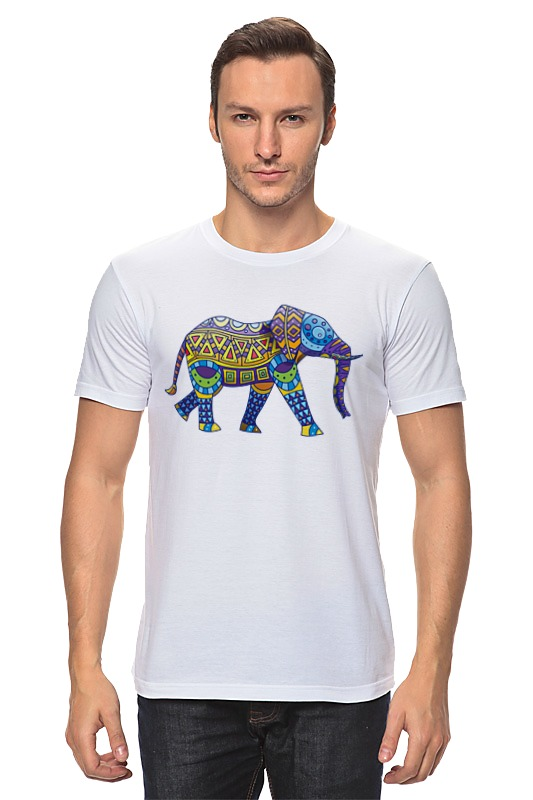 Футболка классическая Printio Индийский слон сумка printio индийский слон