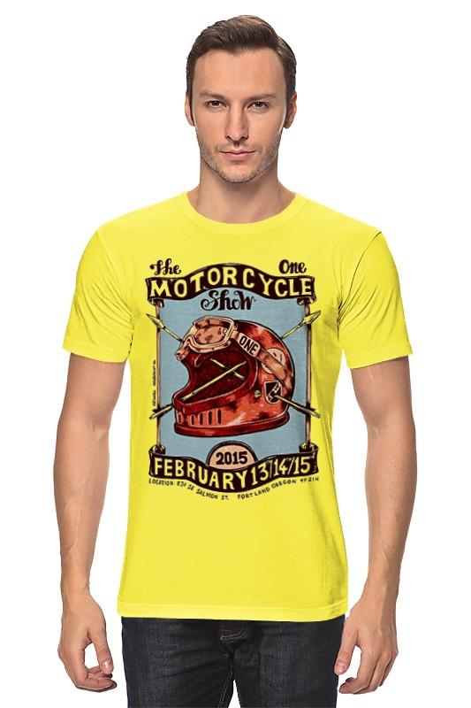 Футболка классическая Printio Motorcycle show футболка lin show 370