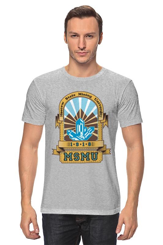 Футболка классическая Printio Мужская мггу футболка мужская