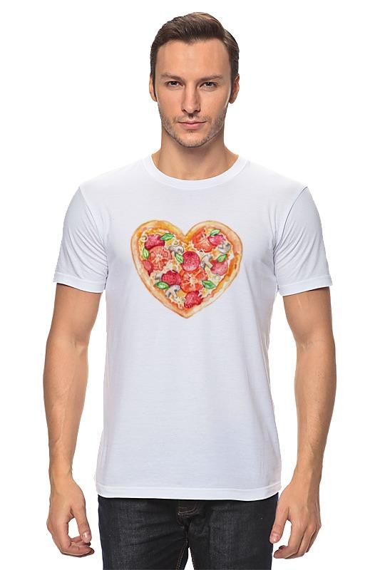Футболка классическая Printio Пицца это любовь футболка классическая printio это голубь