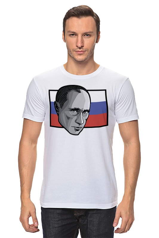 Футболка классическая Printio Путин (россия) цена 2017
