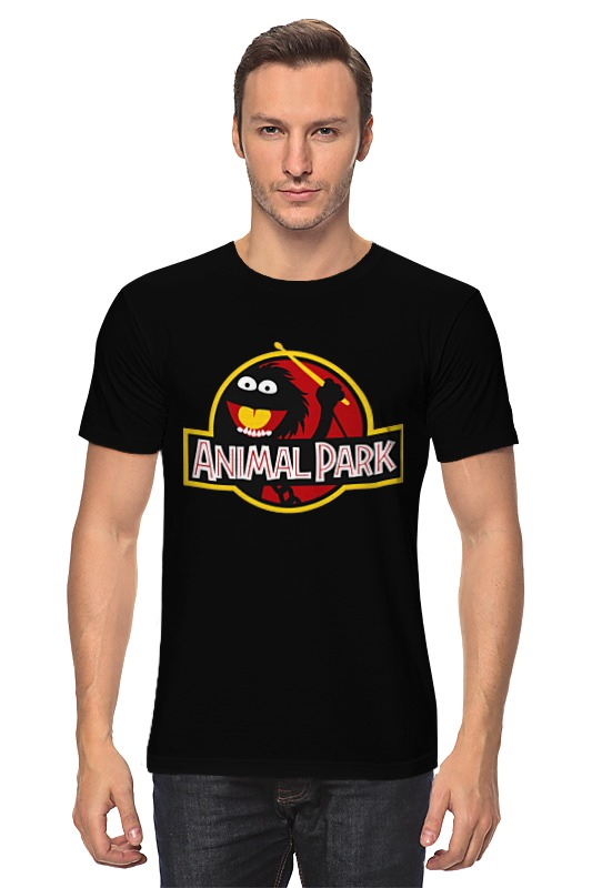 Футболка классическая Printio Animal park animal pillow case cover 1pc