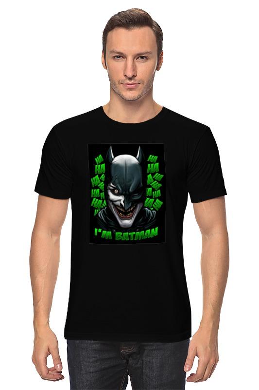 Футболка классическая Printio Бэтмен/джокер футболка print bar бэтмен и джокер