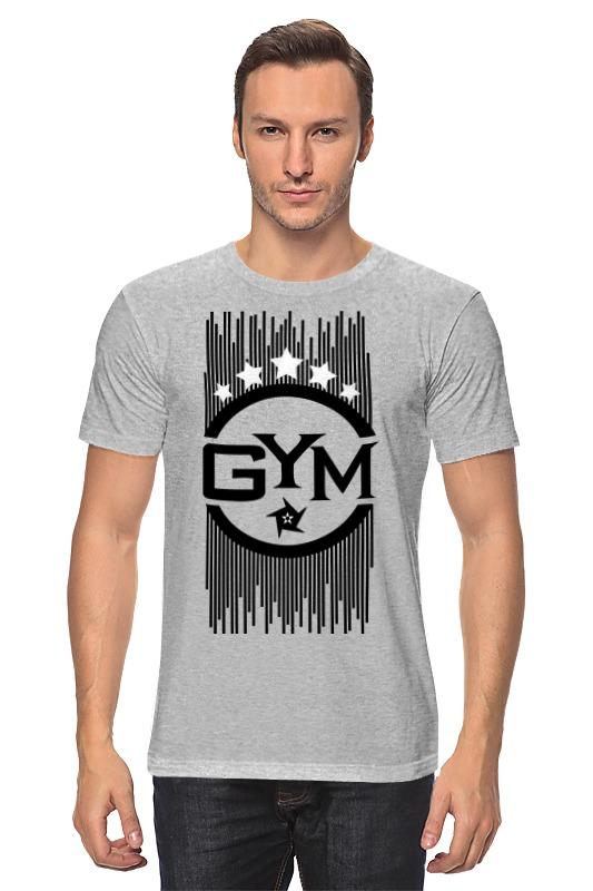 Футболка классическая Printio !!! gym !!! футболка стрэйч printio спортзал попайя